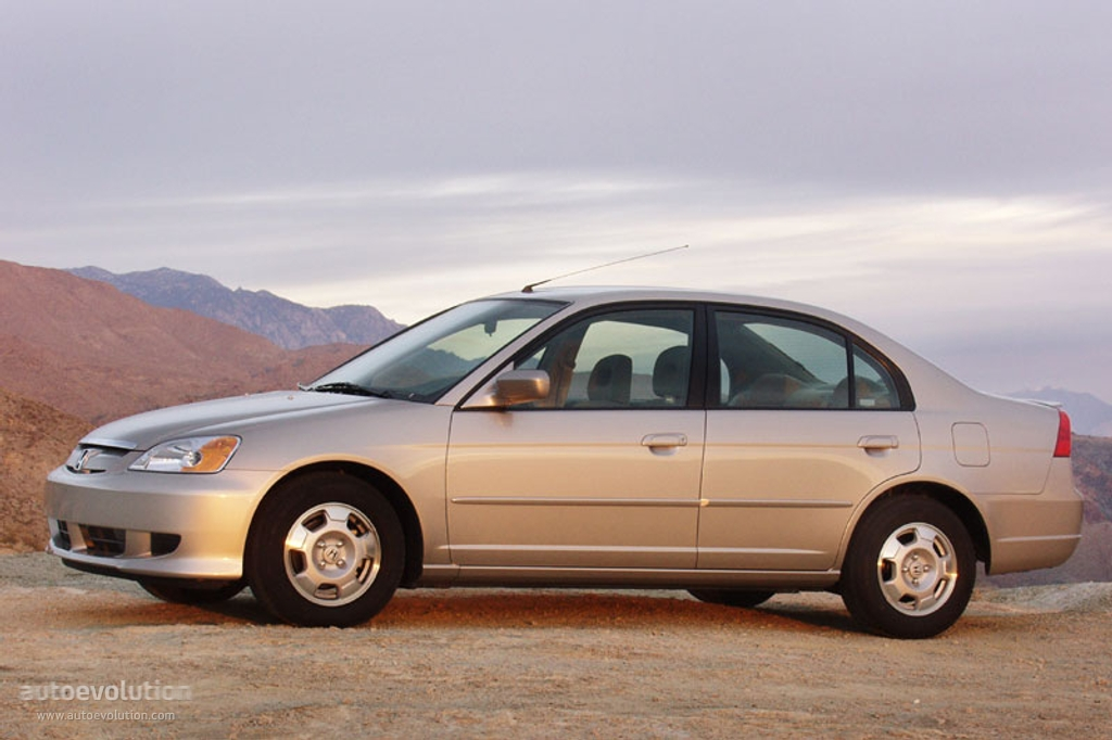 HONDA Civic Sedan - 2003, 2004, 2005 - autoevolution