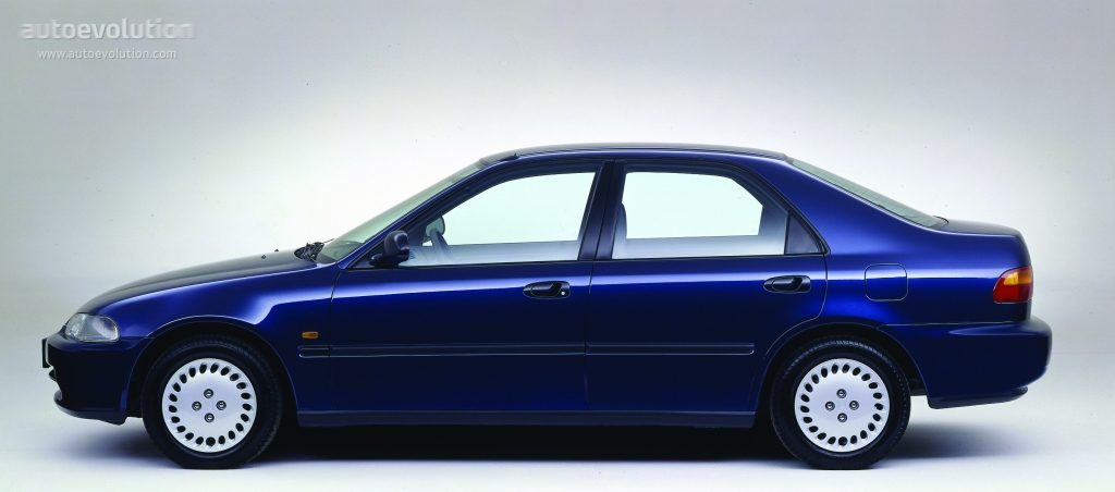 HONDA Civic Sedan specs - 1991, 1992, 1993, 1994, 1995, 1996 - autoevolution