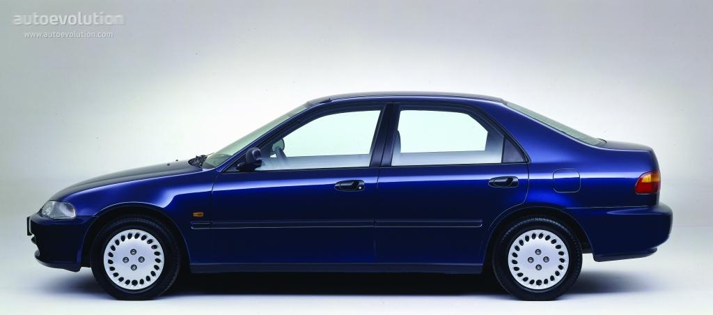 Honda Civic Sedan 1991 1992 1993 1994 1995 1996