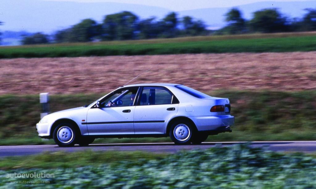 HONDA Civic Sedan specs  1991 1992 1993 1994 1995 1996