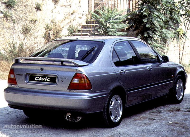 Honda civic 5 doors specs 1995 1996 1997 autoevolution for 1997 honda civic window trim