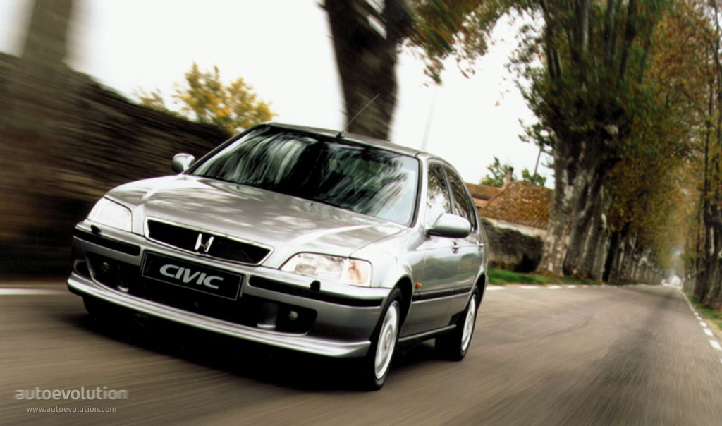 HONDA Civic 5 Doors specs - 1997, 1998, 1999, 2000, 2001 - autoevolution
