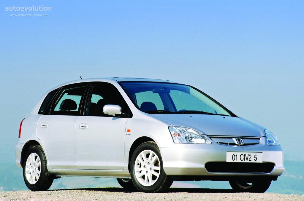 HONDA Civic 5 Doors specs - 2001, 2002, 2003 - autoevolution