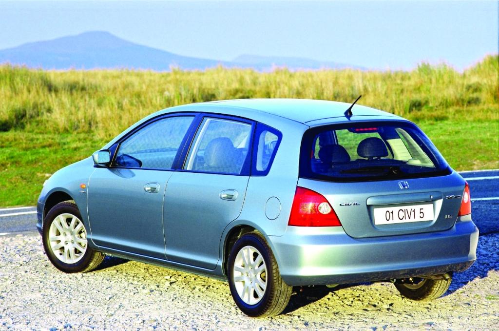 2003 Honda Civic Si Hatchback - GReddy Turbo Kit - Honda Tuning ...