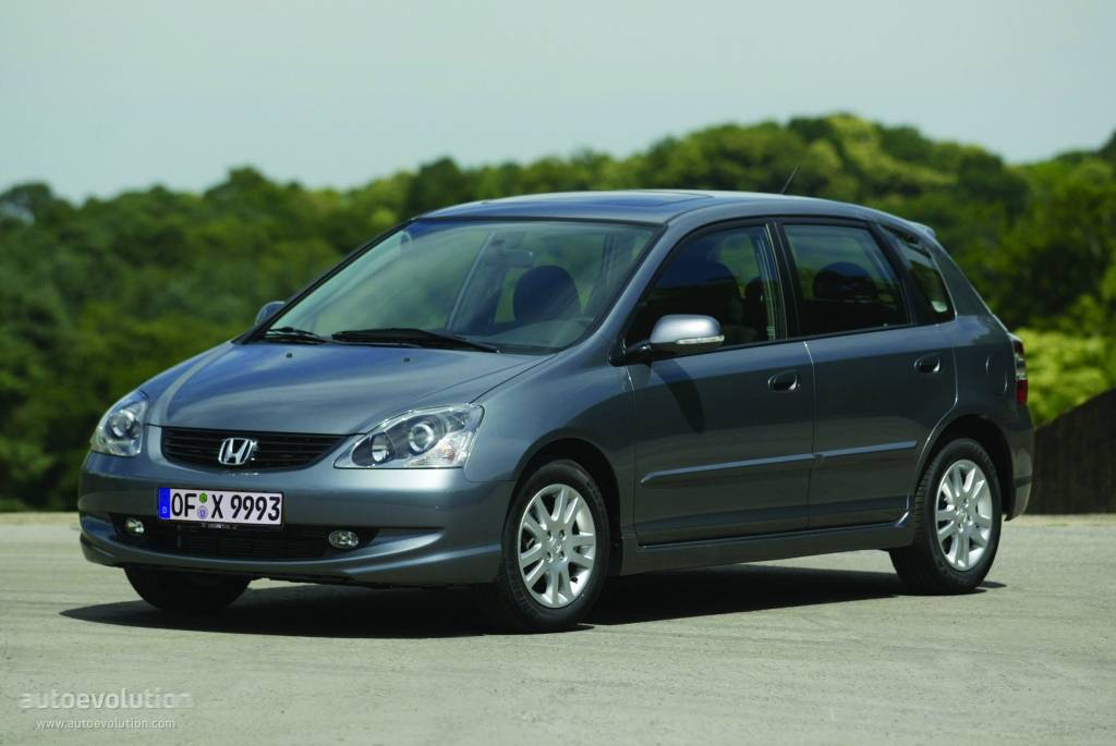 2004 Honda Civic Hybrid >> HONDA Civic 5 Doors - 2003, 2004, 2005 - autoevolution