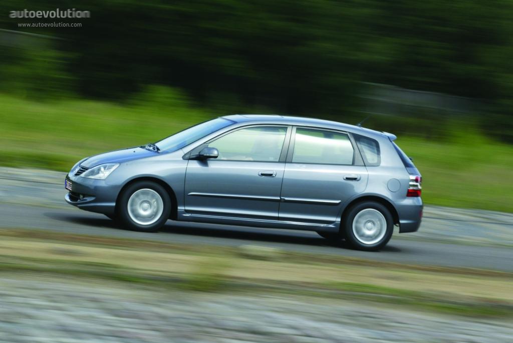 Honda civic 5 doors specs 2003 2004 2005 autoevolution for 2001 honda civic window trim