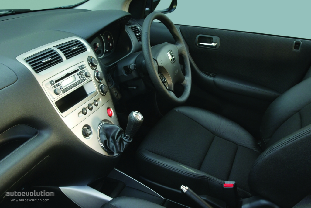 HONDA Civic 5 Doors specs - 2003, 2004, 2005 - autoevolution
