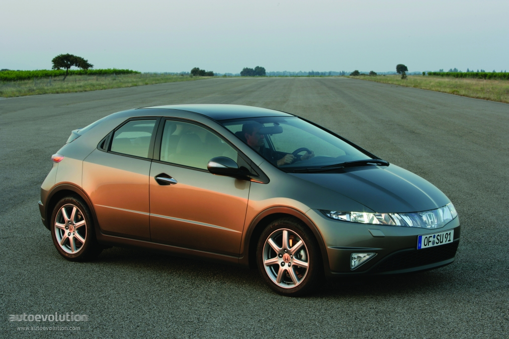 HONDA Civic 5 Doors specs & photos - 2005, 2006, 2007, 2008 - autoevolution