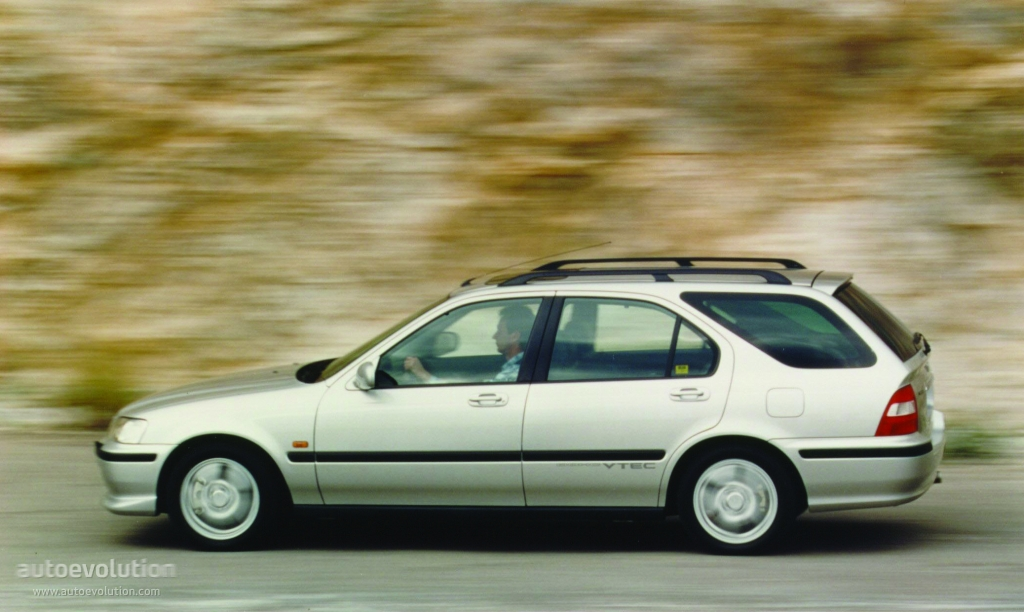 HONDA Civic Aero Deck specs & photos - 1998, 1999, 2000 ...