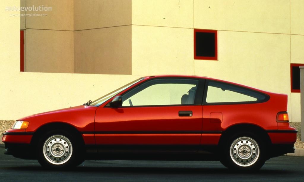 Honda Civic Crx Specs 1988 1989 1990 1991 1992 1993