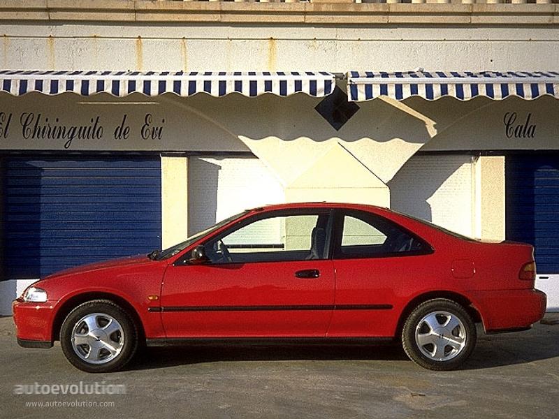 Honda Civic Coupe 1994 1995 1996 Autoevolution