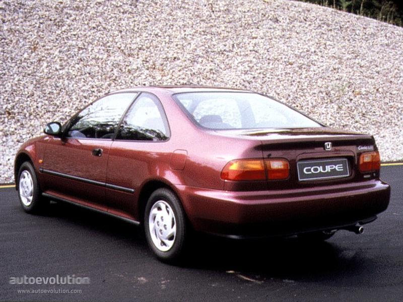 HONDA Civic Coupe - 1994, 1995, 1996 - autoevolution