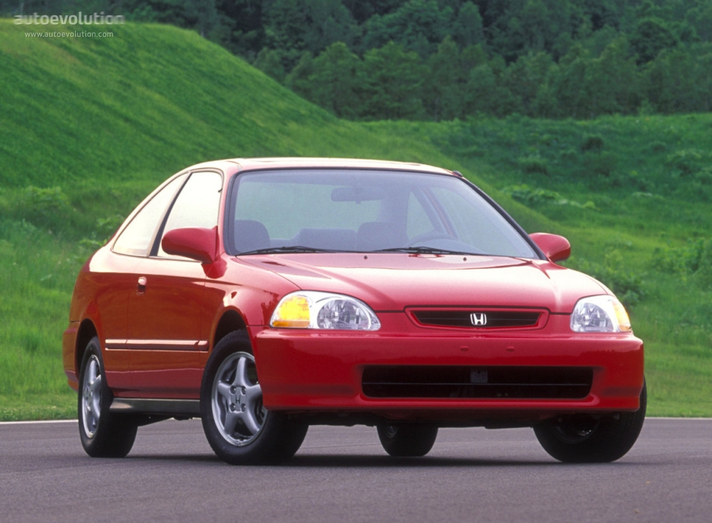 Honda Civic Coupe 1996 1997 1998 1999 2000 2001