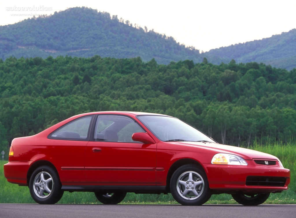 Wonderful ... HONDA Civic Coupe (1996   2001) ...