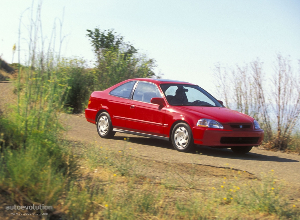 HONDA Civic Coupe - 1996, 1997, 1998, 1999, 2000, 2001 ...