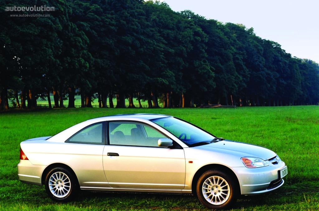 HONDA Civic Coupe - 2001, 2002, 2003, 2004, 2005 - autoevolution