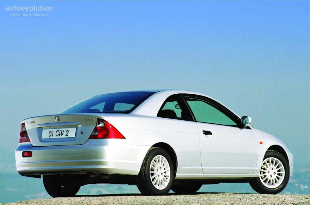 Honda Civic Coupe 2001 2002 2003 2004 2005