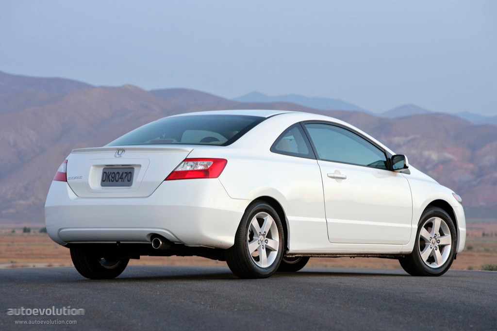 Honda Civic Coupe Specs 2005 2006 2007 2008