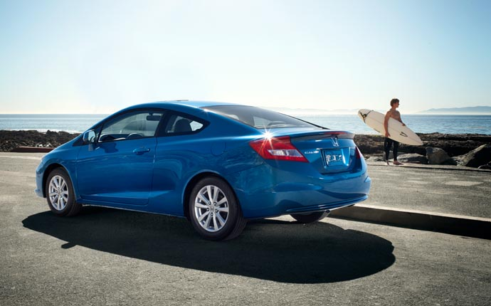 ... HONDA Civic Coupe (2012   2015) ...