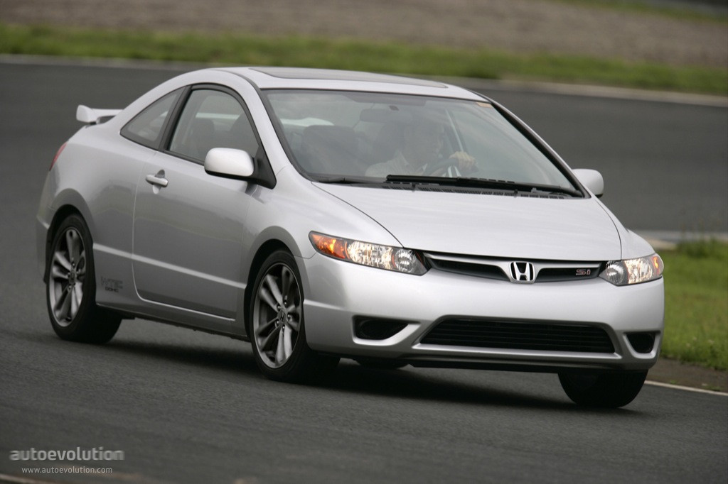 honda civic coupe si specs photos 2006 2007 2008. Black Bedroom Furniture Sets. Home Design Ideas