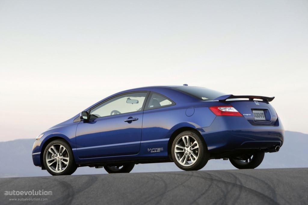 2008 Honda Civic Mpg >> HONDA Civic Coupe Si - 2006, 2007, 2008 - autoevolution