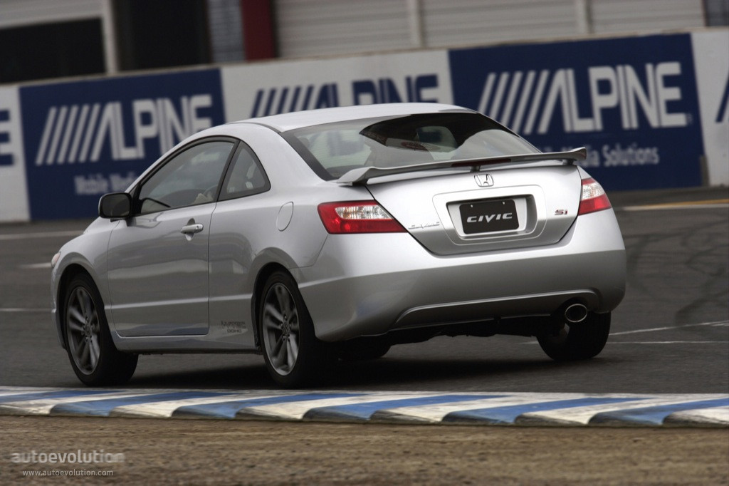 Honda Civic Si 2008 Coupe