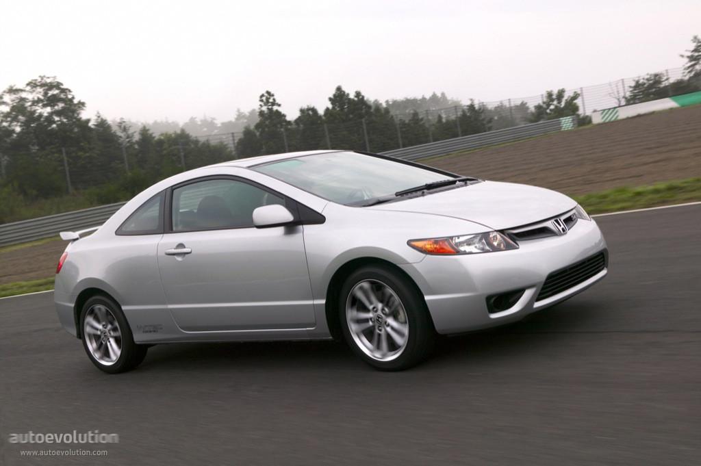 Honda civic coupe 2006
