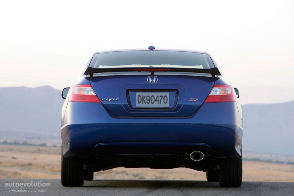 HONDA Civic Coupe Si specs - 2006, 2007, 2008 - autoevolution