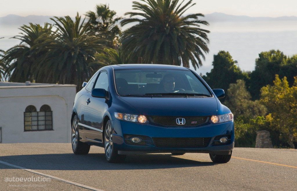 HONDA Civic Coupe Si specs - 2008, 2009, 2010, 2011 - autoevolution