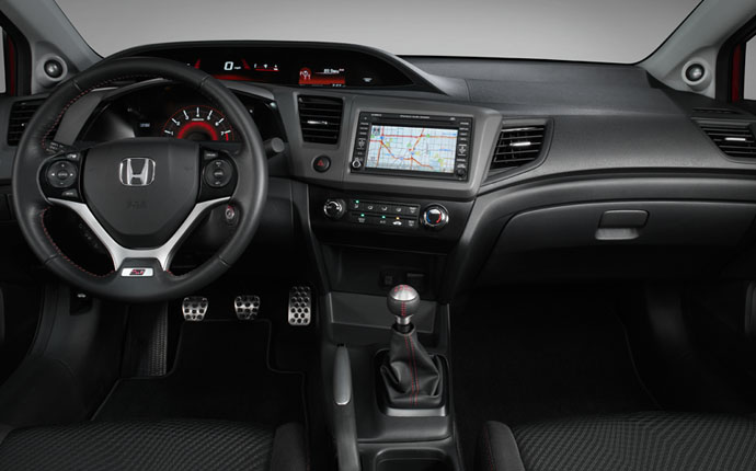 HONDA Civic Coupe Si specs & photos - 2012, 2013, 2014, 2015 - autoevolution