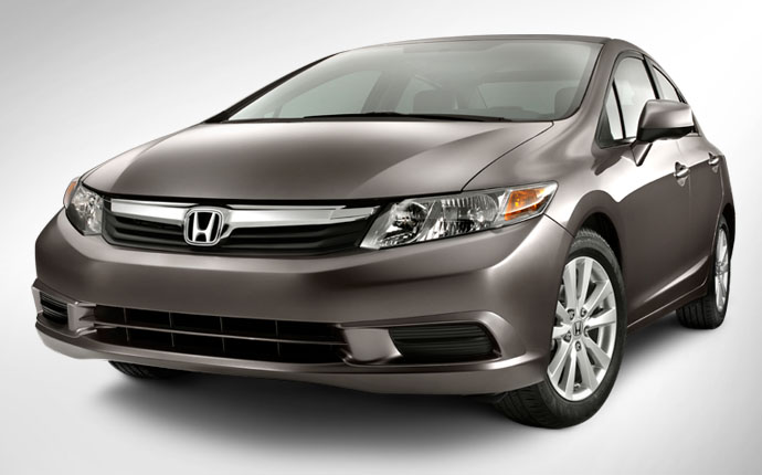 Honda Civic 2012 exterior  HONDA Civic
