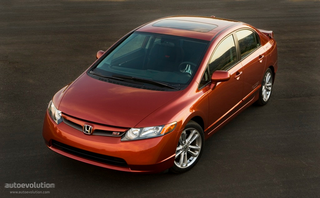 HONDA Civic Sedan Si US (2007   2008) ...