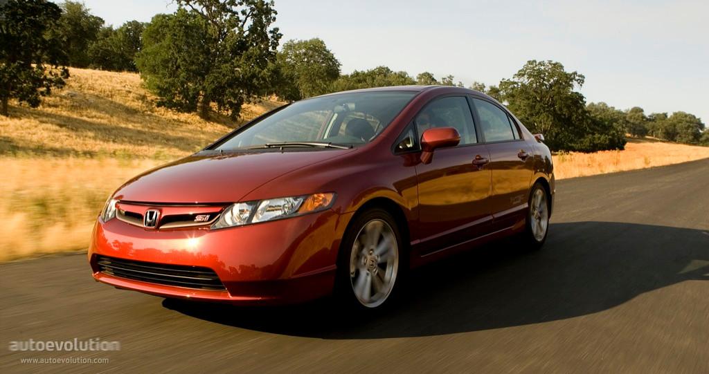 Honda Civic Si Specs >> HONDA Civic Sedan Si US specs & photos - 2007, 2008 - autoevolution