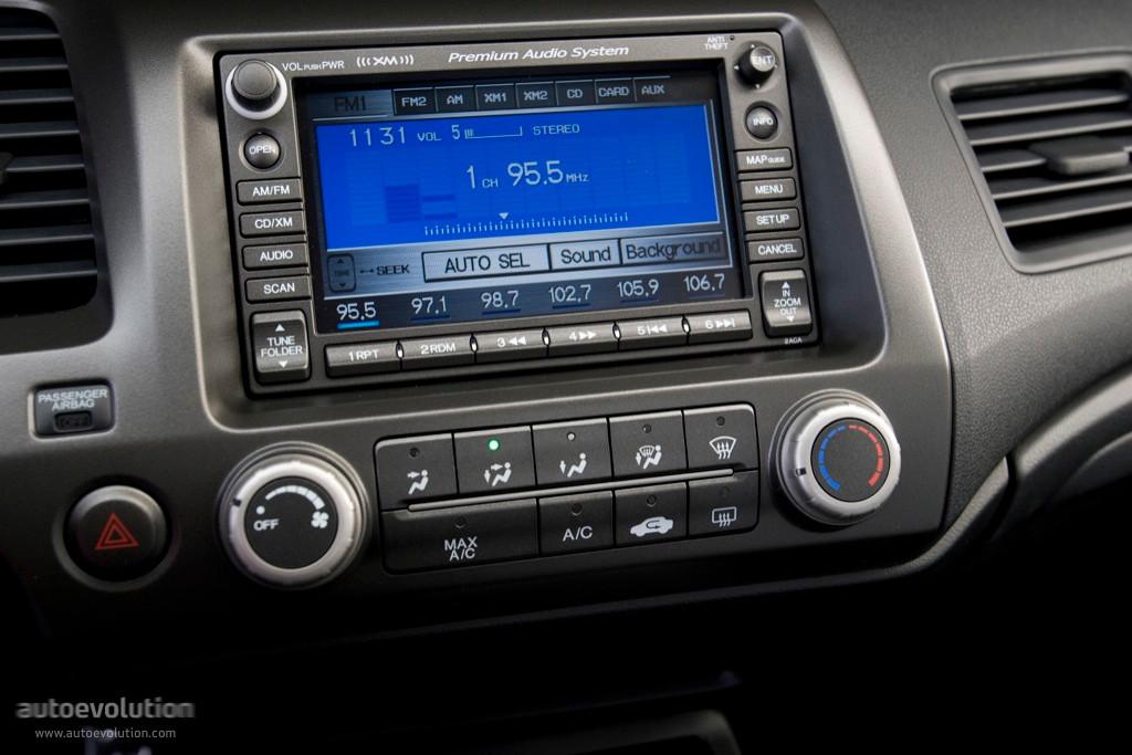 2010 honda civic navigation system