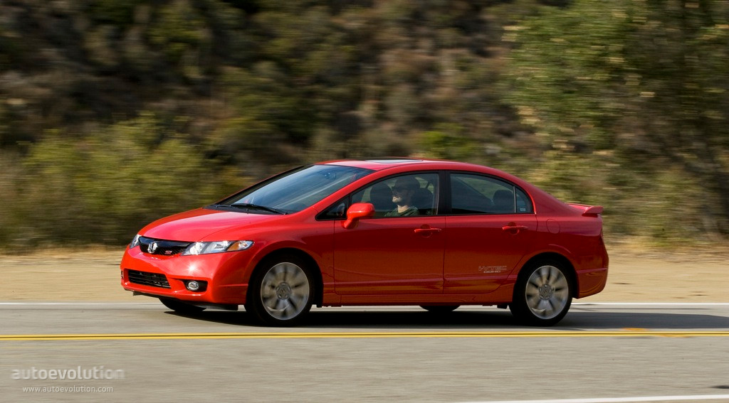 HONDA Civic Sedan Si US specs - 2008, 2009, 2010, 2011, 2012, 2013 ...