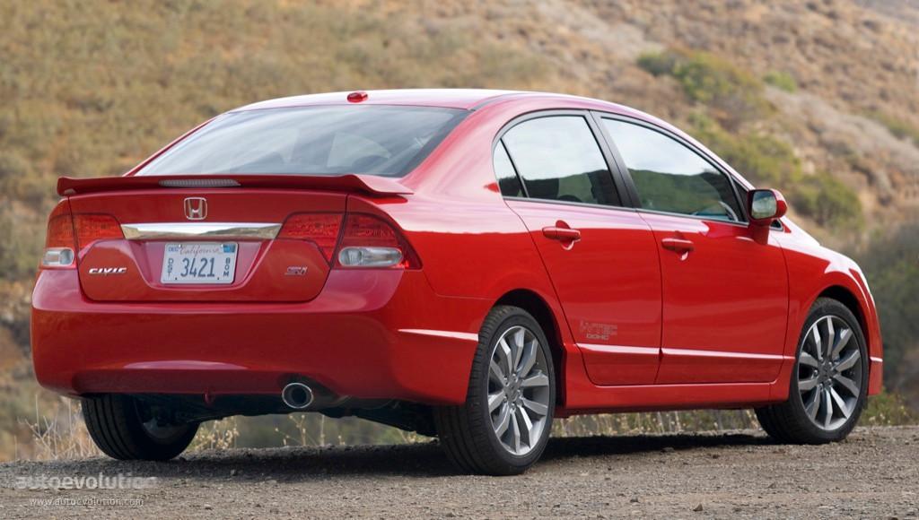 Honda Civic Sedan Si Us 2008 2009 2010 2011 2012