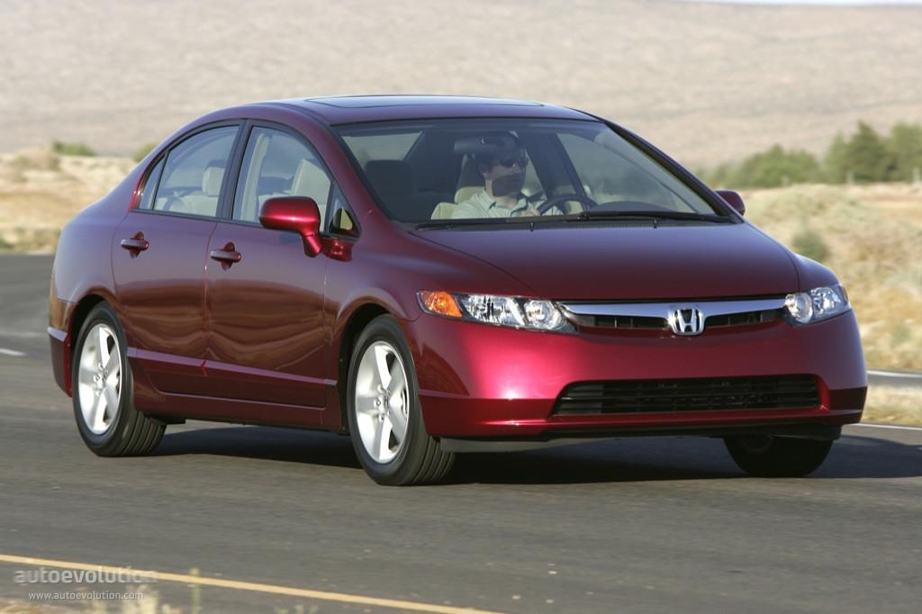 Honda Civic Sedan Us Specs Photos 2005 2006 2007 2008 Autoevolution