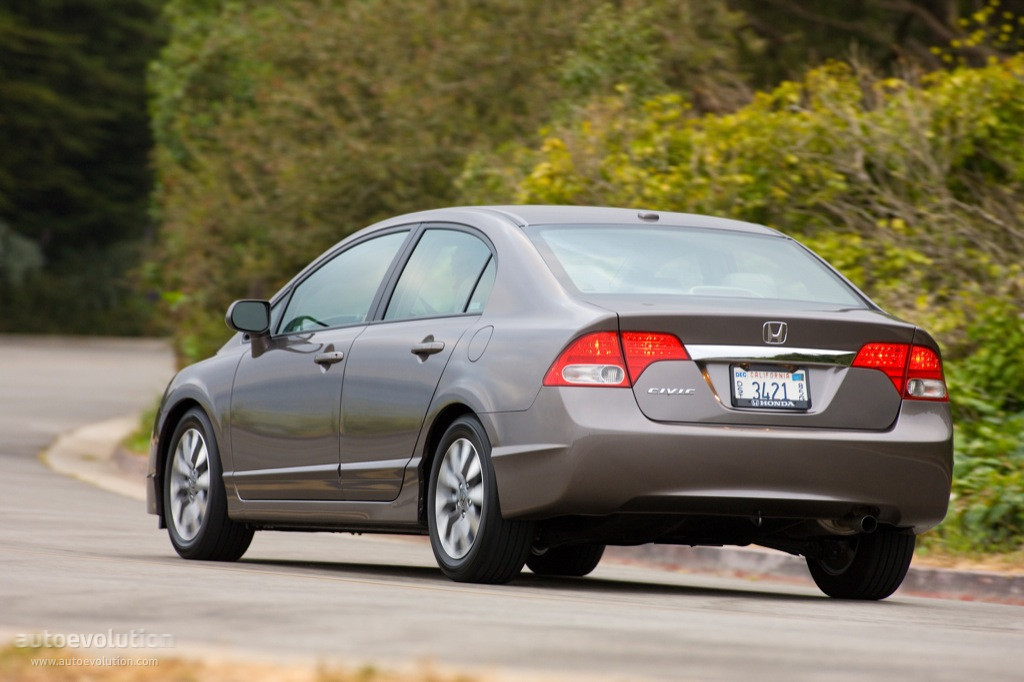 HONDA Civic Sedan US - 2008, 2009, 2010, 2011, 2012, 2013, 2014, 2015 ...