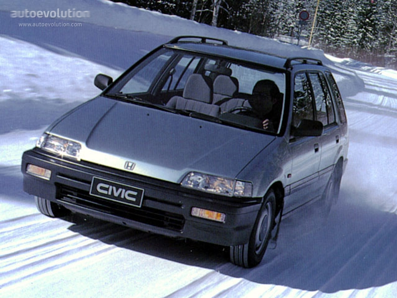 HONDA Civic Shuttle - 1987, 1988, 1989, 1990, 1991, 1992, 1993