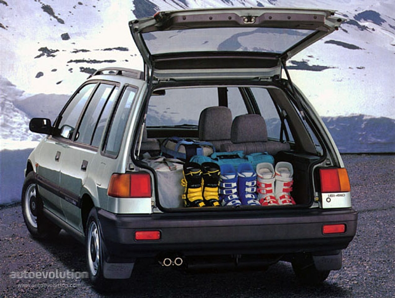 Honda Civic Shuttle Specs Photos 1987 1988 1989 1990 1991