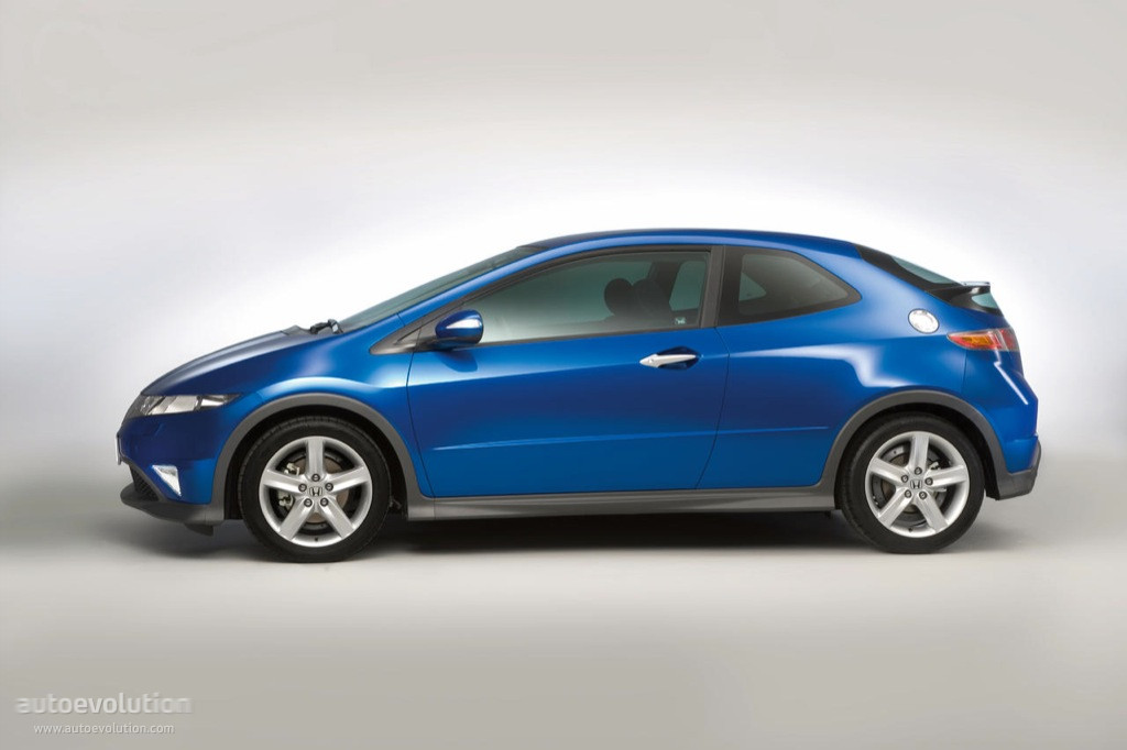HONDA Civic Type S specs & photos - 2005, 2006, 2007, 2008 - autoevolution