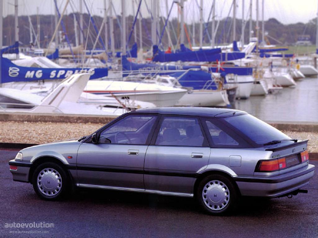 HONDA Concerto Hatchback specs & photos - 1990, 1991, 1992 ...