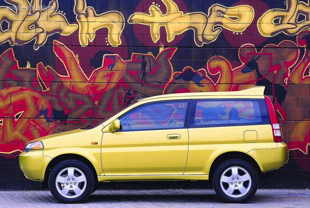 HONDA HR-V 3 Doors specs & photos - 1999, 2000, 2001 ...