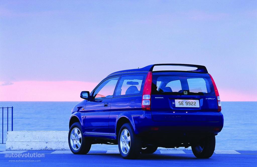 Honda Hr V 3 Doors 1999 2000 2001 Autoevolution