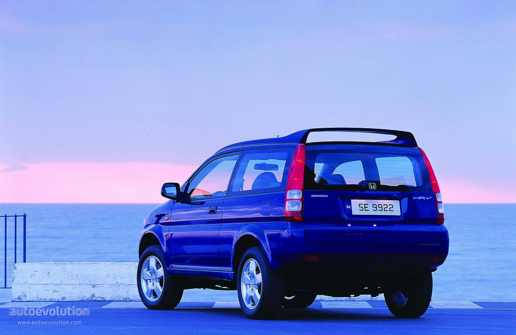 2001 Honda Civic Transmission >> HONDA HR-V 3 Doors specs & photos - 1999, 2000, 2001 ...