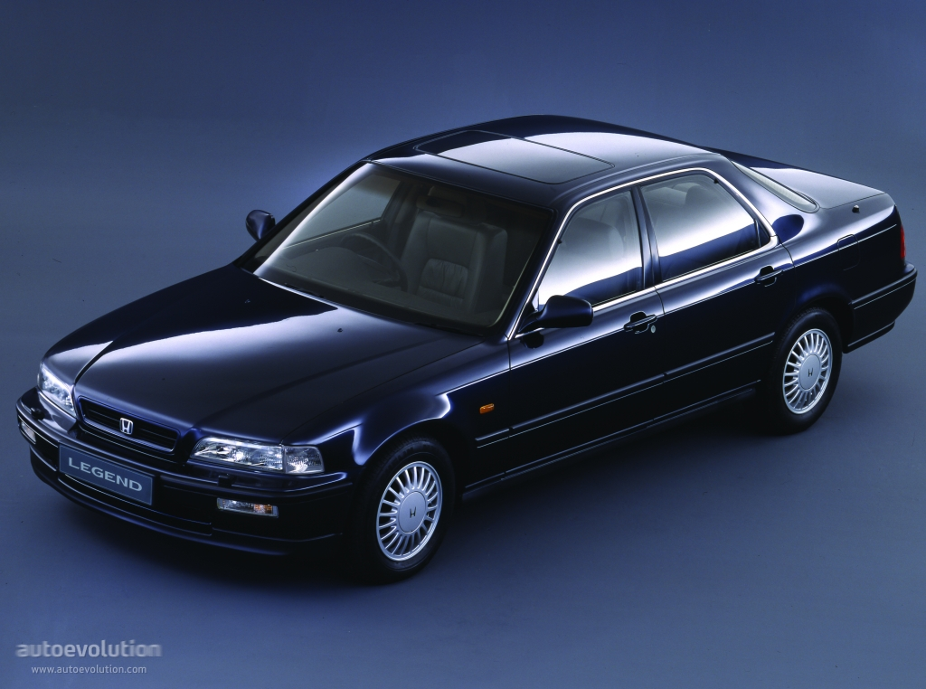 HONDA Legend Sedan specs & photos - 1991, 1992, 1993, 1994 ...