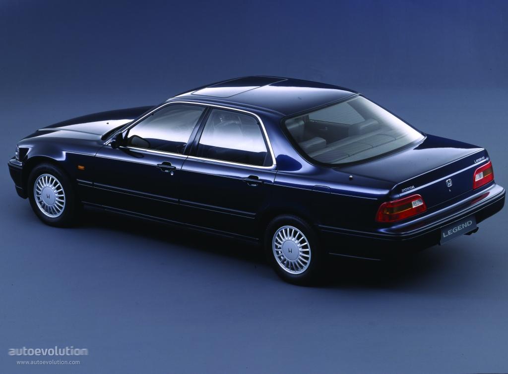 Honda Legend Sedan Specs 1991 1992 1993 1994 1995