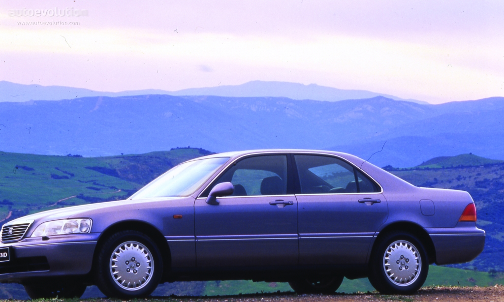 Honda Legend Sedan Specs Amp Photos 1996 1997 1998 1999