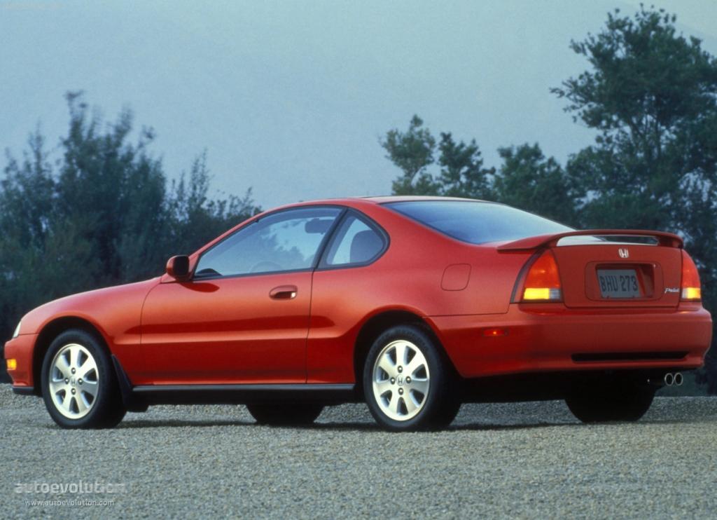 HONDA Prelude specs & photos - 1992, 1993, 1994, 1995, 1996 - autoevolution