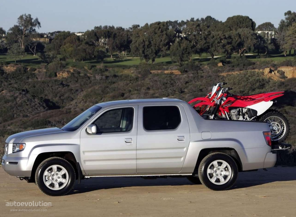 HONDA Ridgeline specs & photos - 2005, 2006, 2007, 2008, 2009 - autoevolution